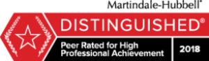 Distinguished Martindale 2018